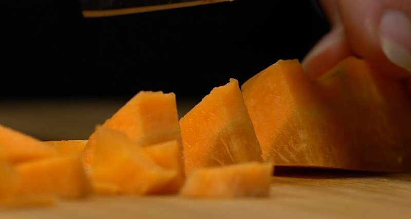 beans-carrots-chopped