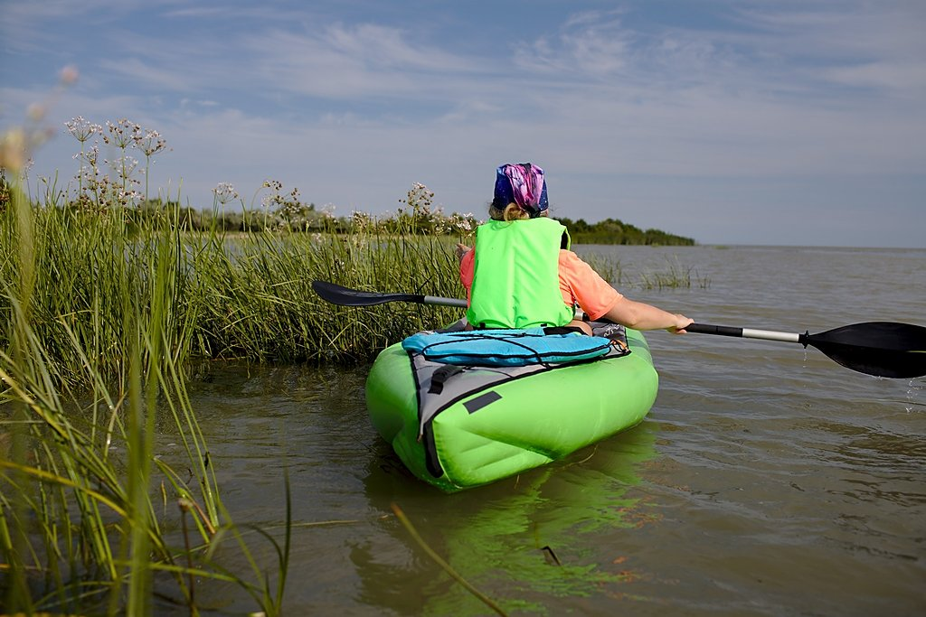 kayaking - Danube Delta
